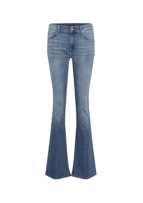 YR2000 mid-rise bootcut jeans