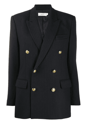 A.L.C. pinstripe double-breasted blazer - Blue