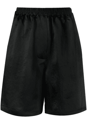 Acne Studios elasticated waistband shorts - Black