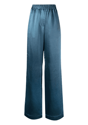 Acne Studios wide-leg trousers - Blue