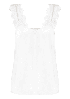 CAMI NYC Chelsea lace-strap top - White