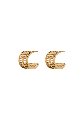 Givenchy G-logo hoop earrings - 710 gold