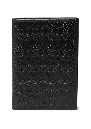 SAINT LAURENT - Logo-Debossed Leather Bifold Wallet - Men - Black