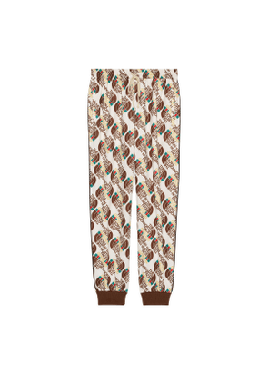 The North Face x Gucci Web print technical jersey jogging bottoms