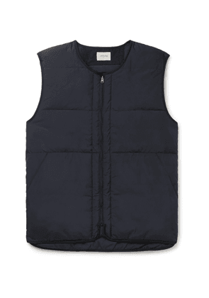 Bellerose - Hoch2 Quilted Shell Down Gilet - Men - Blue