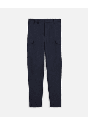 Stella McCartney Blue Gerrit Wool Trousers, Men's, Size 36