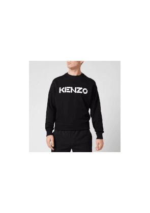 KENZO Men's Bi-Colour Logo Sweatshirt - Black - XL