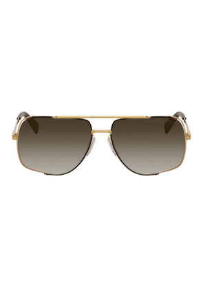 Dita Gold and Grey Midnight Special Sunglasses