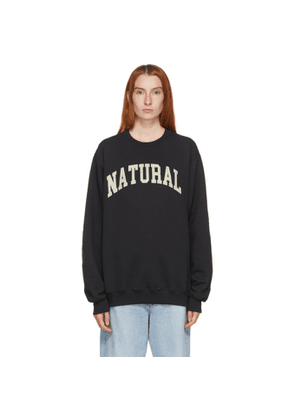 Museum of Peace and Quiet Black Natural Sweatshirt