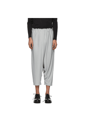 132 5. ISSEY MIYAKE Taupe Basic Trousers