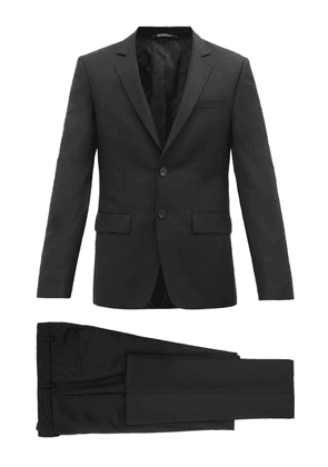 Givenchy - Single-breasted Slim-fit Wool-blend Suit - Mens - Black