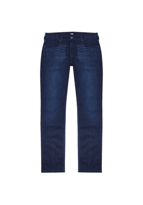 Paige Federal Blue Straight-leg Jeans