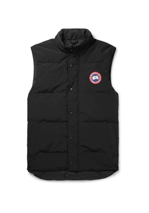 CANADA GOOSE - Garson Slim-Fit Quilted Shell Down Gilet - Men - Black