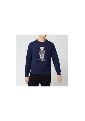 Polo Ralph Lauren Men's Bear Sweatshirt - Navy - M