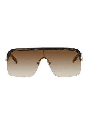 Cutler And Gross Black and Tortoiseshell 1328 Sunglasses