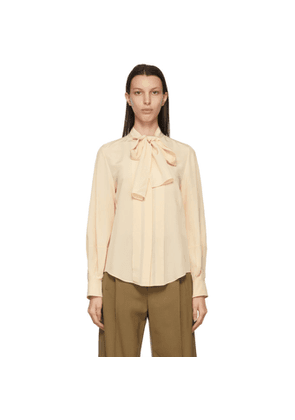 Chloe Pink Lavalliere Blouse