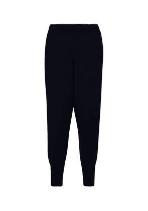 Cashmere-blend trackpants