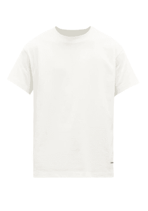 Jil Sander - Pack Of Three Cotton T-shirts - Mens - White