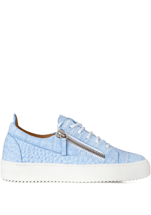 Giuseppe Zanotti Gail low-top sneakers - Blue