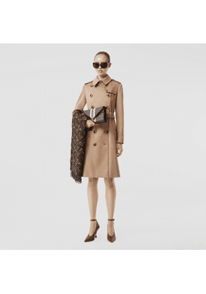 Burberry Regenerated Cashmere Trench Coat, Brown