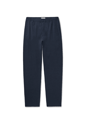 Hamilton and Hare - Stretch-Lyocell and Cotton-Blend Jersey Pyjama Trousers - Men - Blue