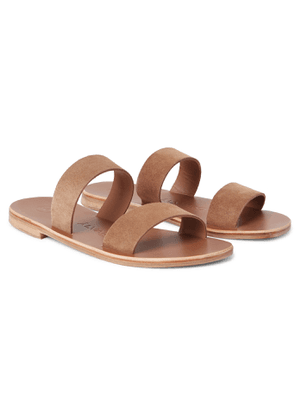 Álvaro - Alex Suede Sandals - Men - Brown
