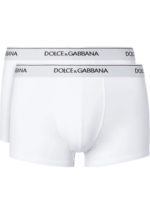 DOLCE & GABBANA - Two-Pack Stretch-Cotton Boxer Briefs - Men - Unknown