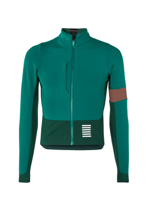 Rapha - Pro Team Panelled Stretch-Jersey Cycling Jacket - Men - Green