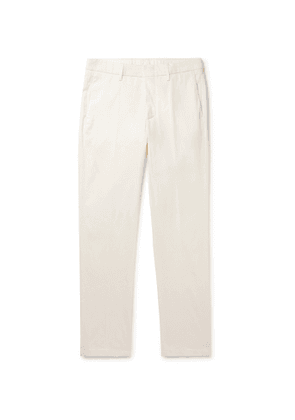DUNHILL - Cotton-Blend Chinos - Men - White