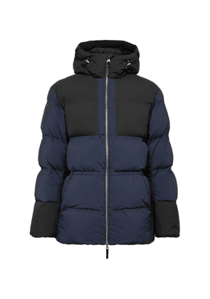 Aztech Mountain - Durant Panelled Quilted Ripstop Hooded Down Ski Jacket - Men - Blue
