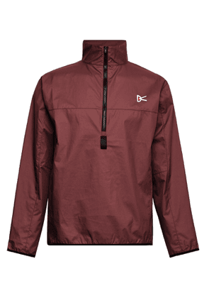 DISTRICT VISION - Theo Shell Half-Zip Jacket - Men - Burgundy