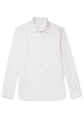 THE ROW - Robin Cotton and Cashmere-Blend Shirt - Men - Unknown