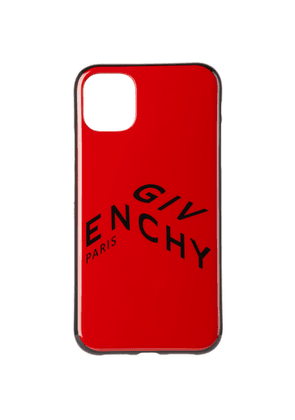Givenchy Red Refracted Logo iPhone 11 Case