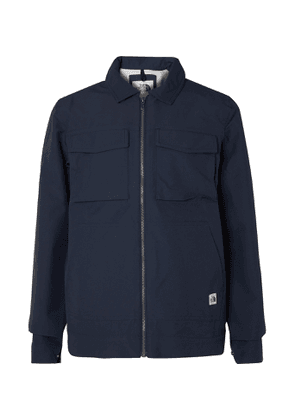 The North Face - Utility Coach Logo-Appliquéd Nylon-Blend Twill Jacket - Men - Blue
