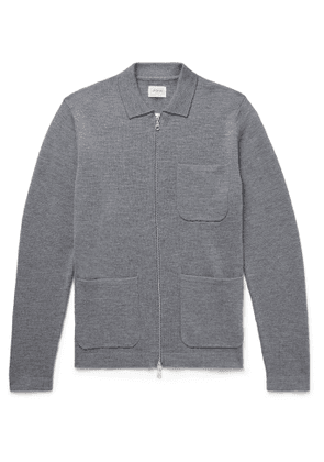 BELLEROSE - Diljy Wool Zip-Up Cardigan - Men - Gray - S
