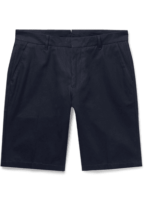 BELLEROSE - Slim-Fit Cotton-Twill Shorts - Men - Blue - FR 38