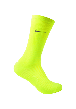 Nike Running - Spark Lightweight Stretch-Knit Socks - Men - Yellow
