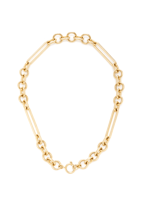 Foundrae - Women's Mixed Oversized Clip Choker - Gold - Moda Operandi - Gifts For Her