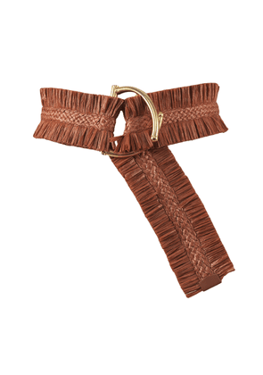 Johanna Ortiz - Women's Sueños Antiguos Ruched Belt - Red - Only At Moda Operandi