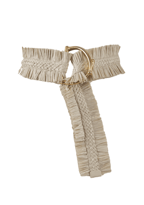 Johanna Ortiz - Women's Sueños Antiguos Ruched Belt - White - Only At Moda Operandi
