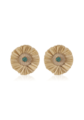 Johanna Ortiz Emerald Amaneciendo Earrings