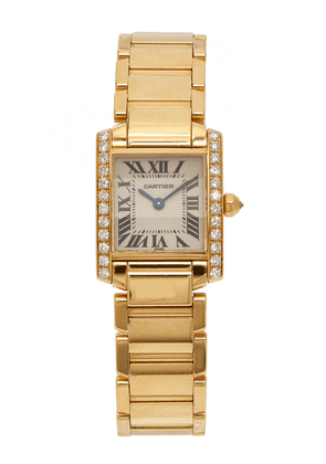 Briony Raymond - Women's 18K Yellow Gold Cartier Tank Francaise Diamond Watch - Gold - Only At Moda Operandi - Gifts For Her