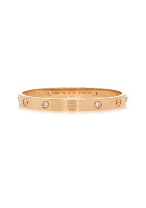 Briony Raymond 18K Rose Gold & Diamond Cartier Love Bracelet