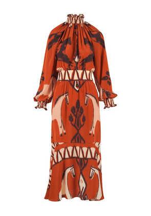 Johanna Ortiz The Pine Ridge Silk Dress