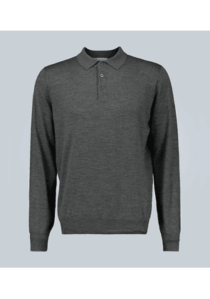 Polo-style sweater