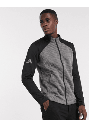 adidas Golf Cold Rdy zip through jacket in grey