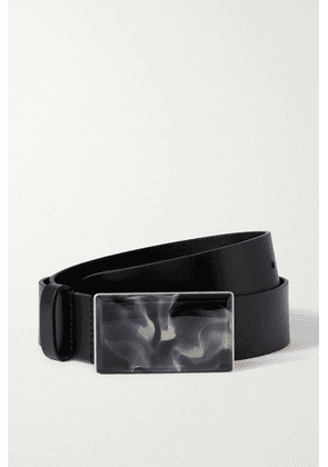 Isabel Marant - Luponi Leather Waist Belt - Black