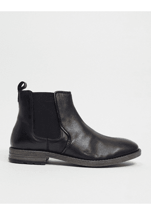 Dune formal ankle boots in black