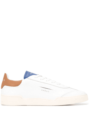 Ghoud lace up sneakers - White