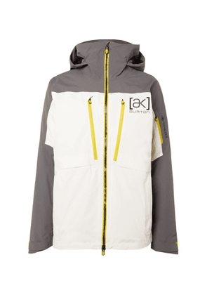Burton - [ak] GORE-TEX LZ Hooded Down Ski Jacket - Men - White